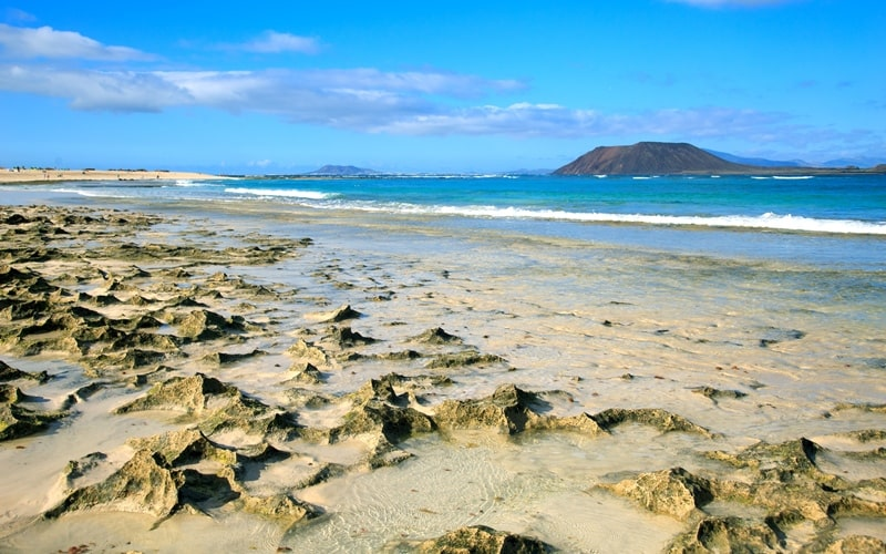 Isla los Lobos bei Fuerteventura