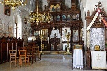 Kloster Arkadi Innenraum