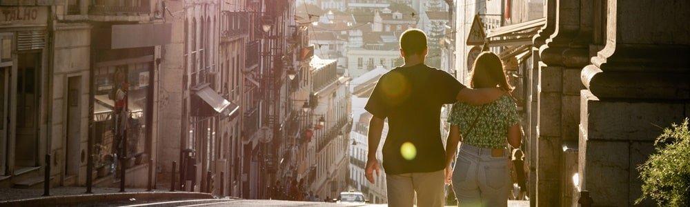Lissabon Pärchen