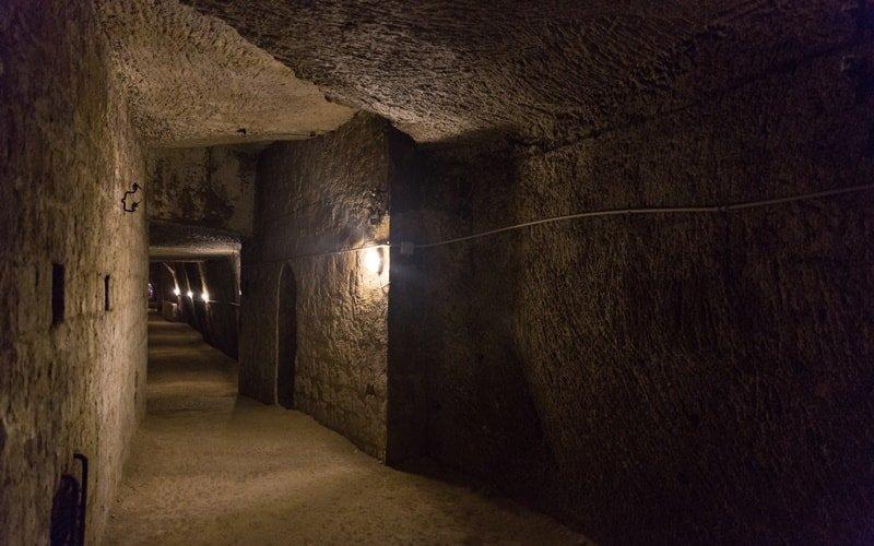 Neapel Untergrund