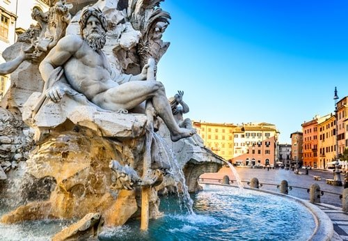 Piazza Navona Brunnen