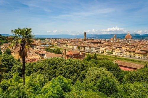 Piazzale Michelangelo Ausblick