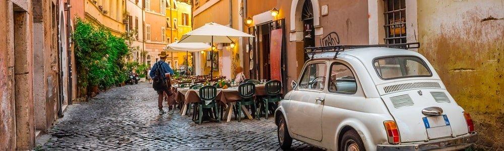Rom Straßen