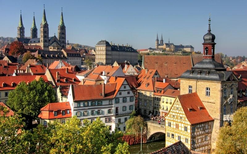Schönste Städte Deutschlands Bamberg
