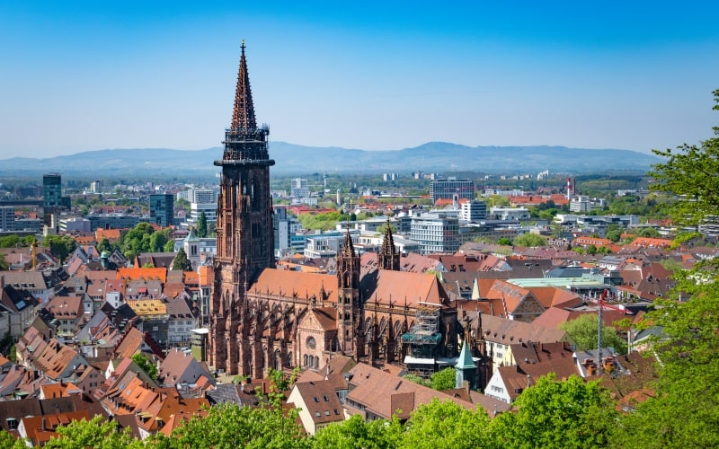 Schönste Städte Deutschlands Freiburg