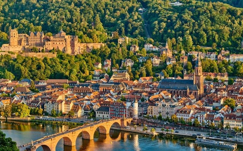 Schönste Städte Deutschlands Heidelberg