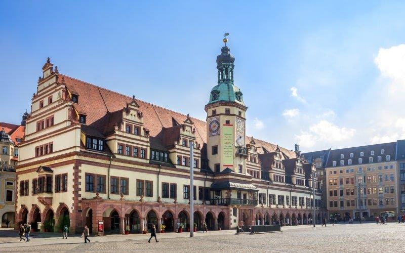 Schönste Städte Deutschlands Leipzig