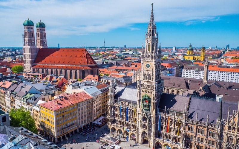 Schönste Städte Deutschlands München