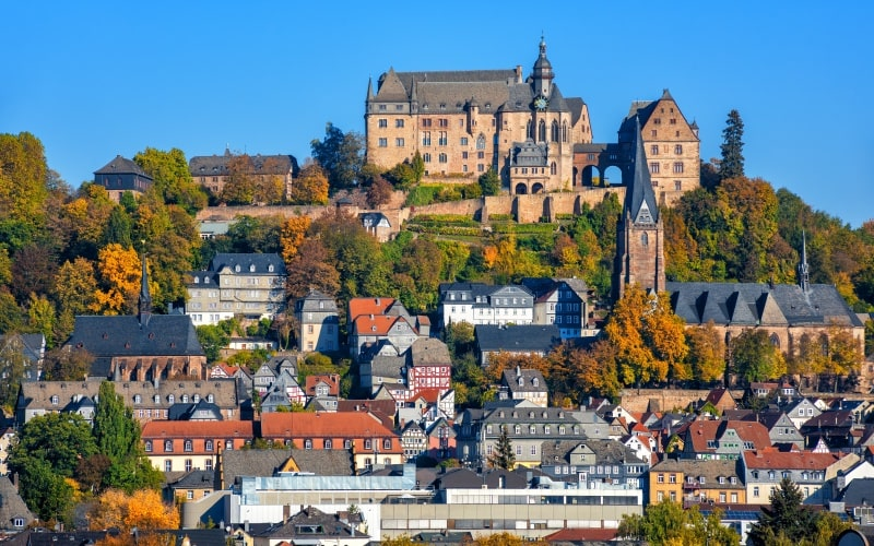 Schönste Städte Deutschlands Marburg