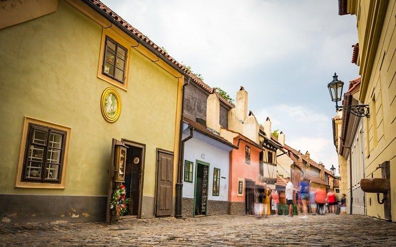 Sehenswürdigkeiten Prag Goldenes Gässchen