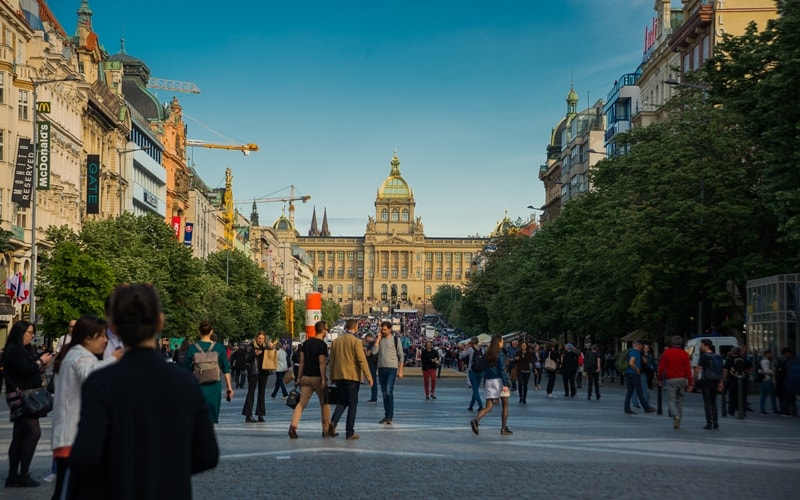 Sehenswürdigkeiten Prag Wenzelsplatz