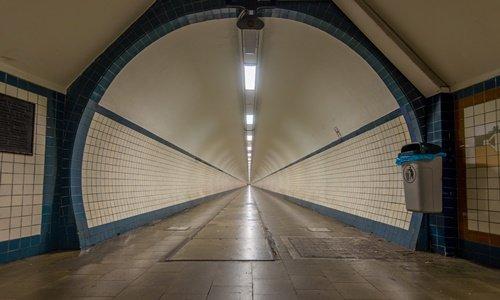 Tunnel in Antwerpen