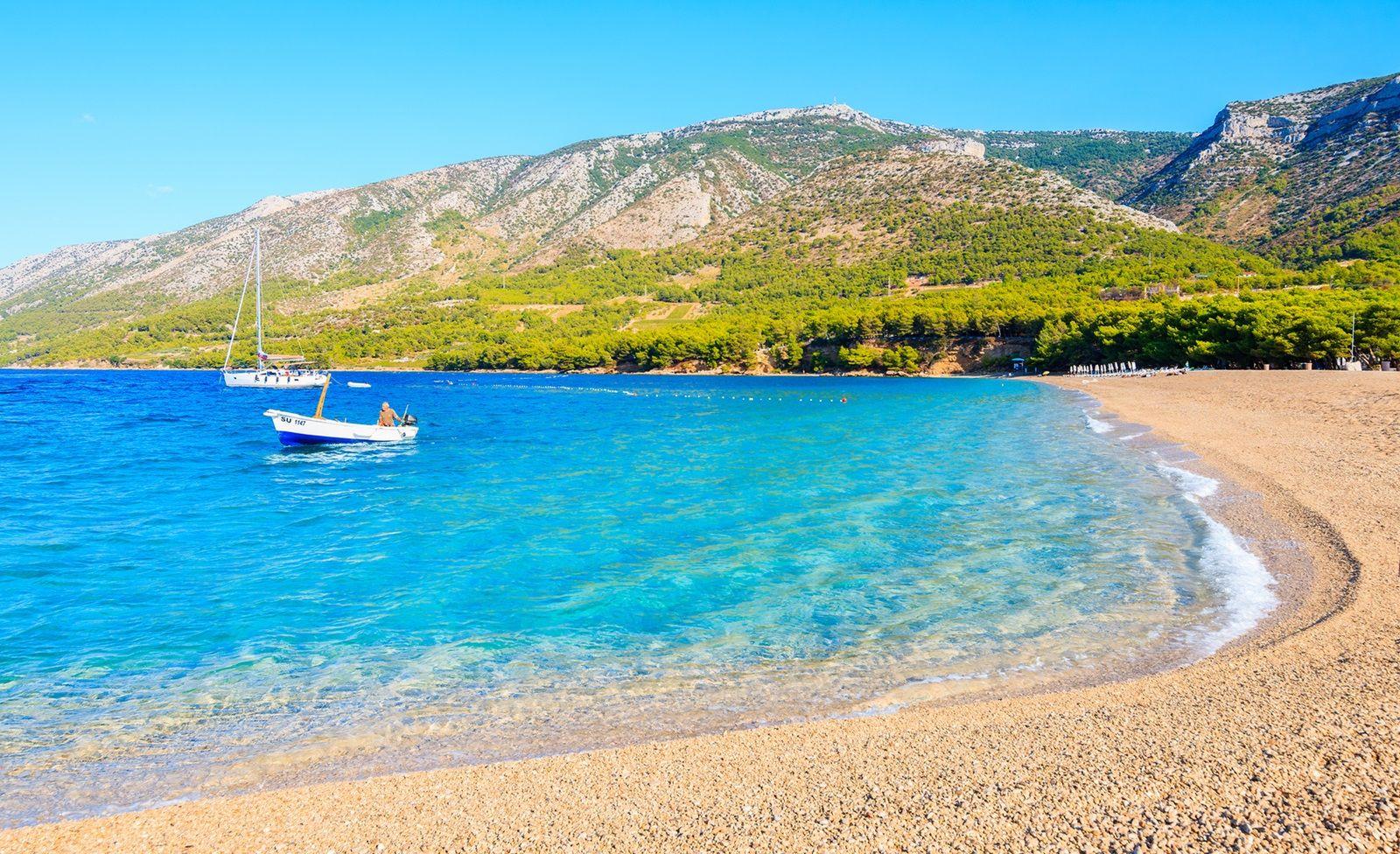 Strand von Kroatien