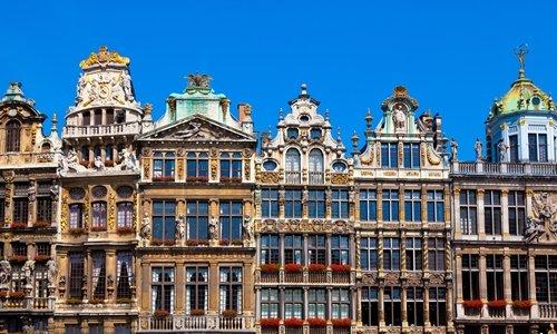 grote markt platz in Brüssel