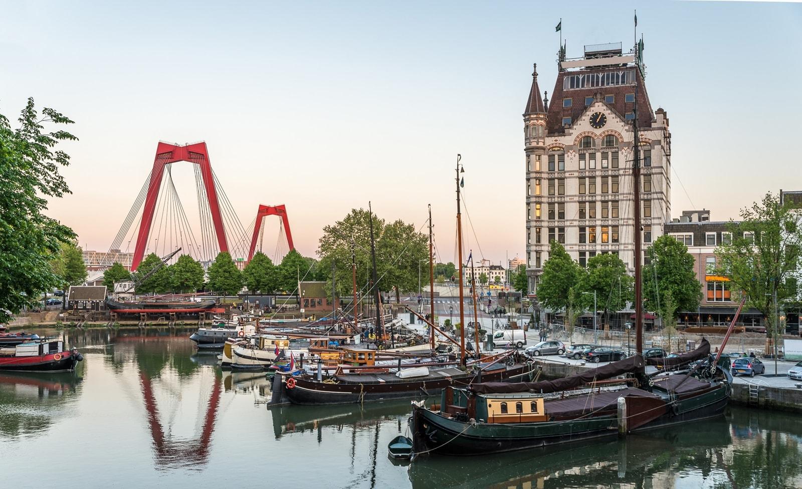 Alter Hafen von Rotterdam