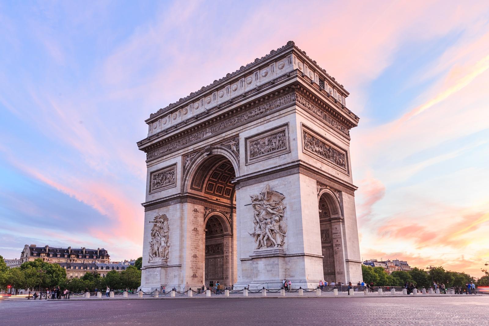 Triumpfbogen in Paris