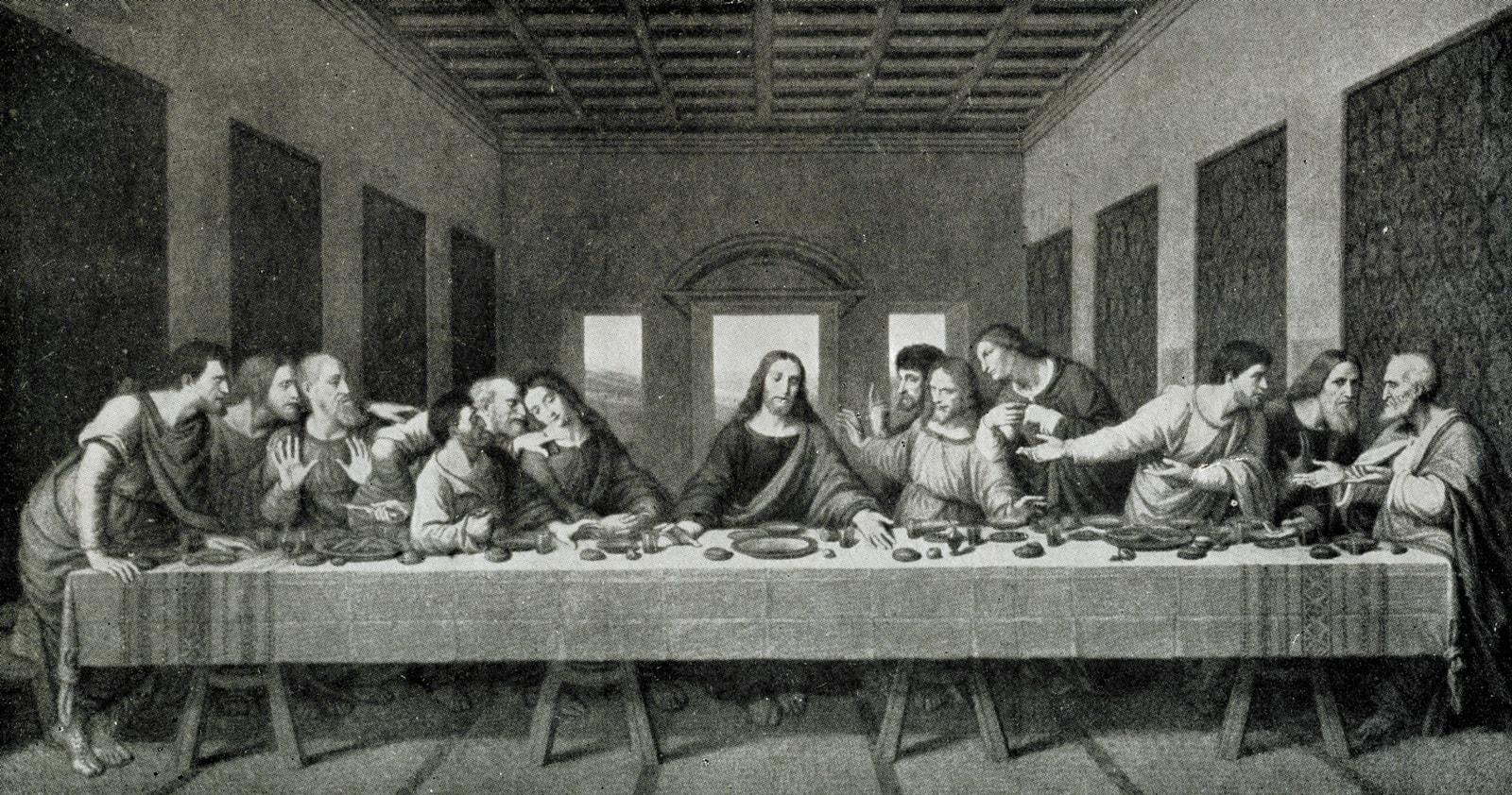 Da Vinci's letztes Abendmahl