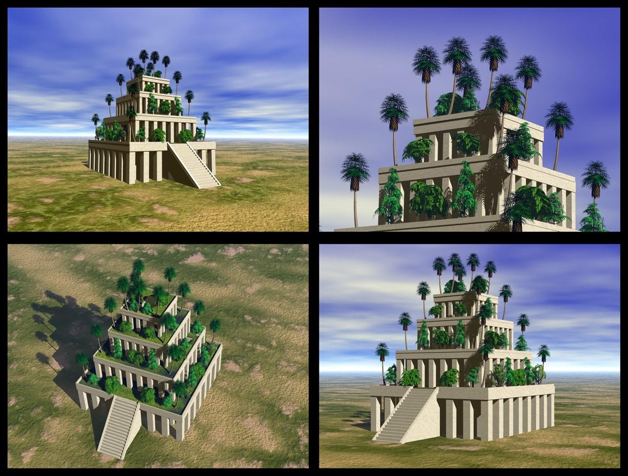 Hängenden Gärten von Babylon