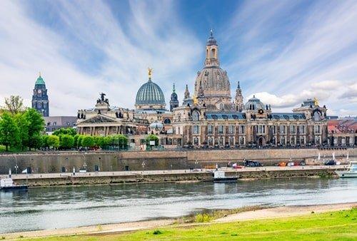 Dresdner Frauenkirche von weitem
