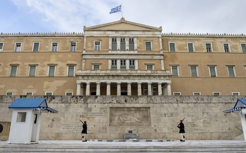 Griechisches-Parlamentsgebäude