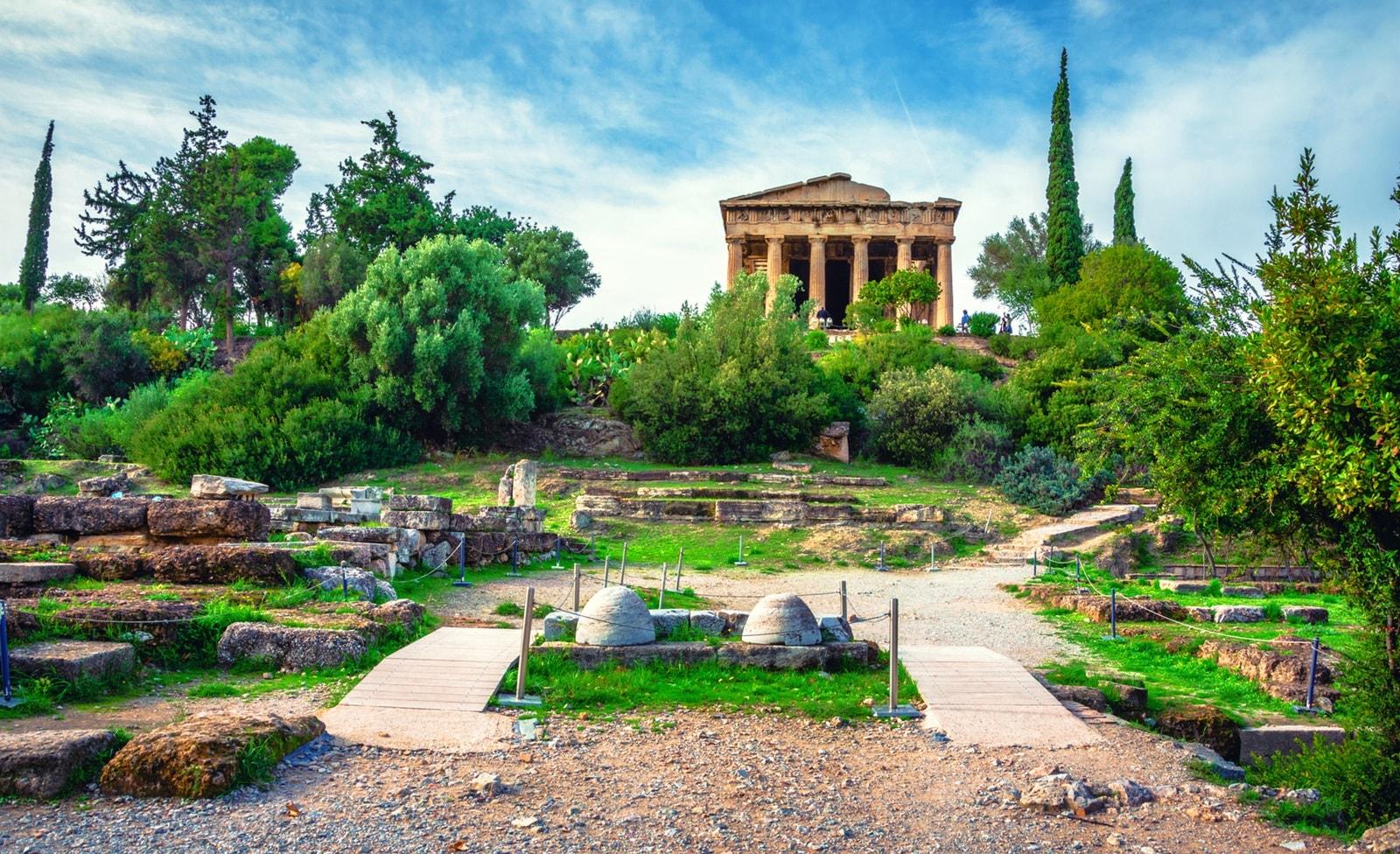 Hephaistos Tempel