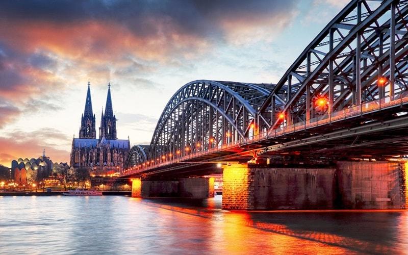 Blick auf den Kölner Dom