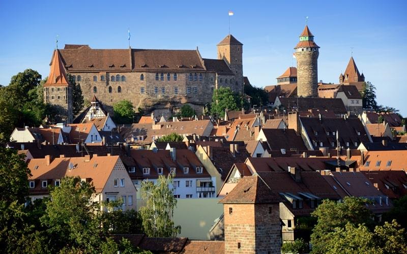 Kaiserburg mit Nürnberger Altstadt