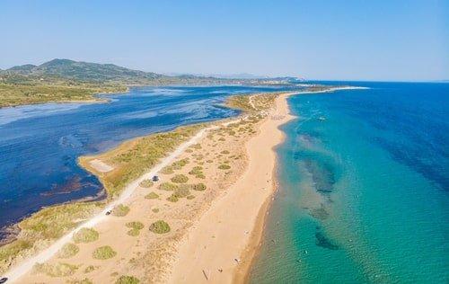 Korissionssee Korfu