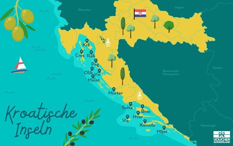 Kroatien_Inseln_Karte