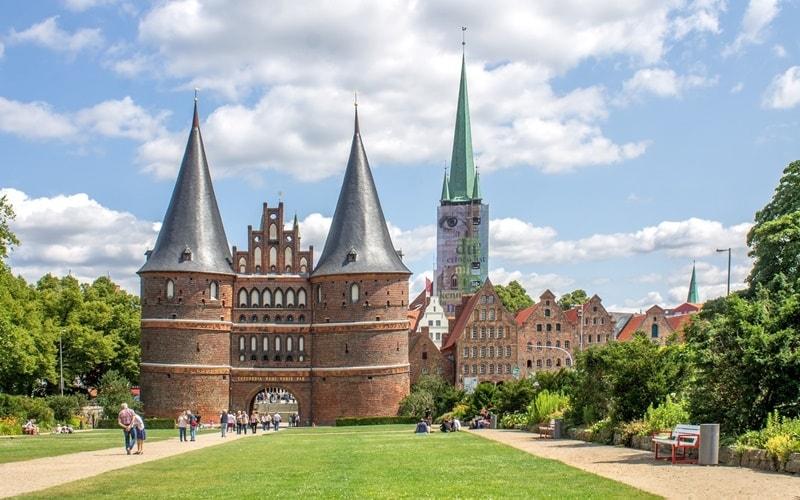 Lübecker-Holstentor