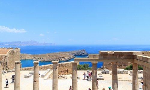 Lindos akropolis rhodos