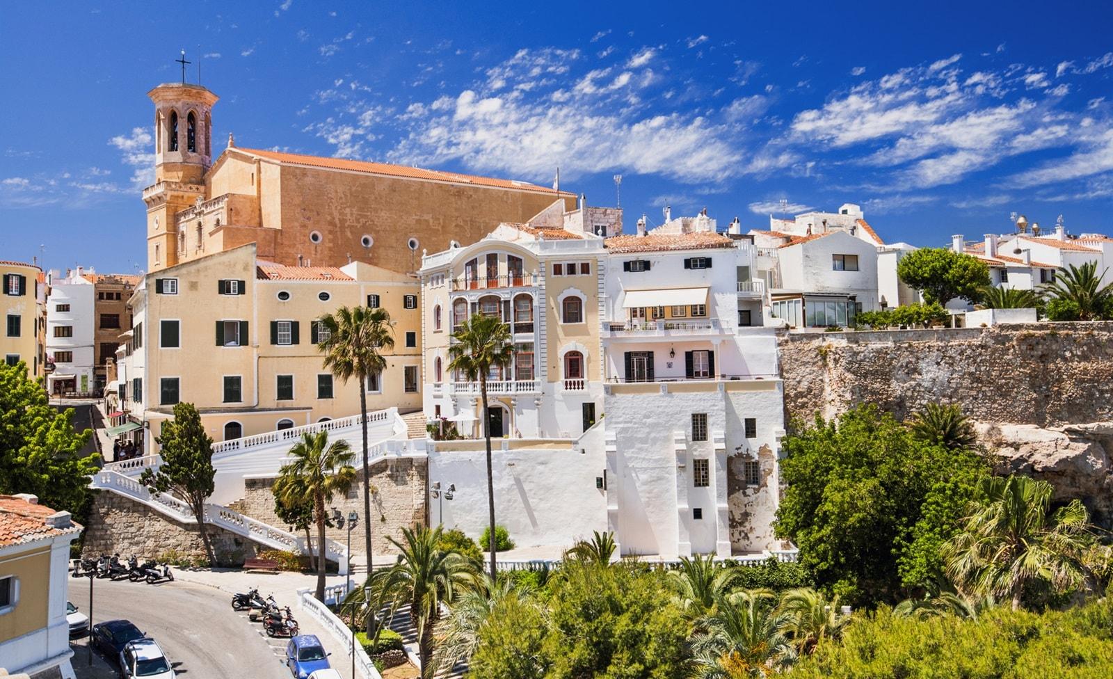 Mahón in Menorca
