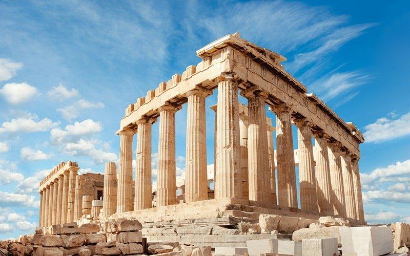 Pantheon und Akropolis