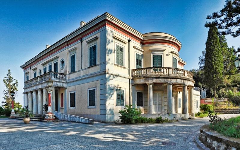 Schloss Mon Repos Korfu Sehenswürdigkeiten