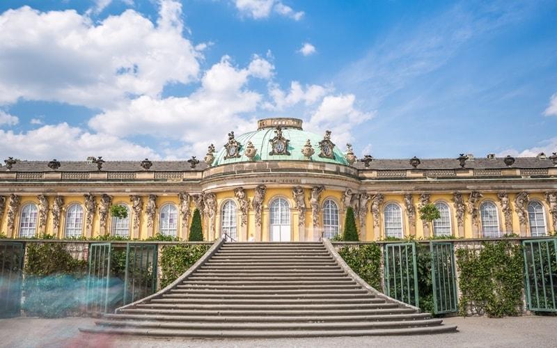 Schloss-Sanssouci