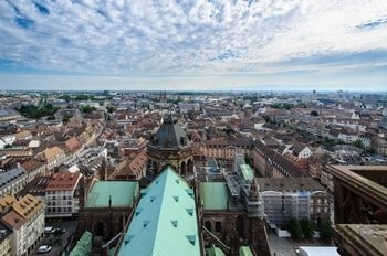 Straßburger Münster Aussicht