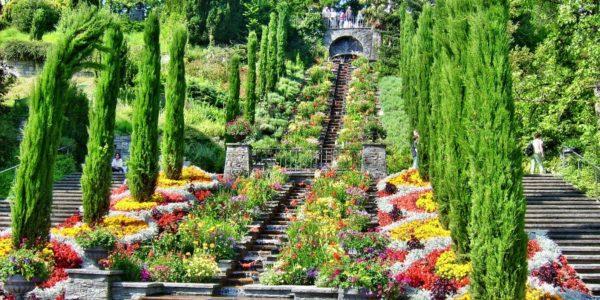 Treppen auf Mainau