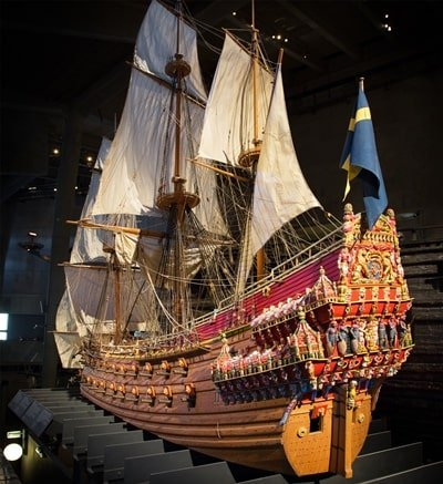 Vasa Schiff Model