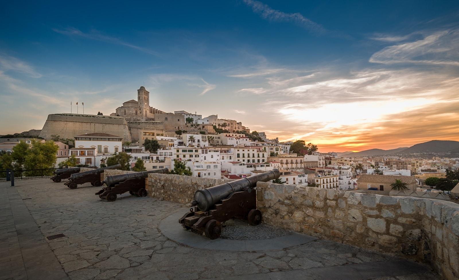 Altstadt von Ibiza-Stadt