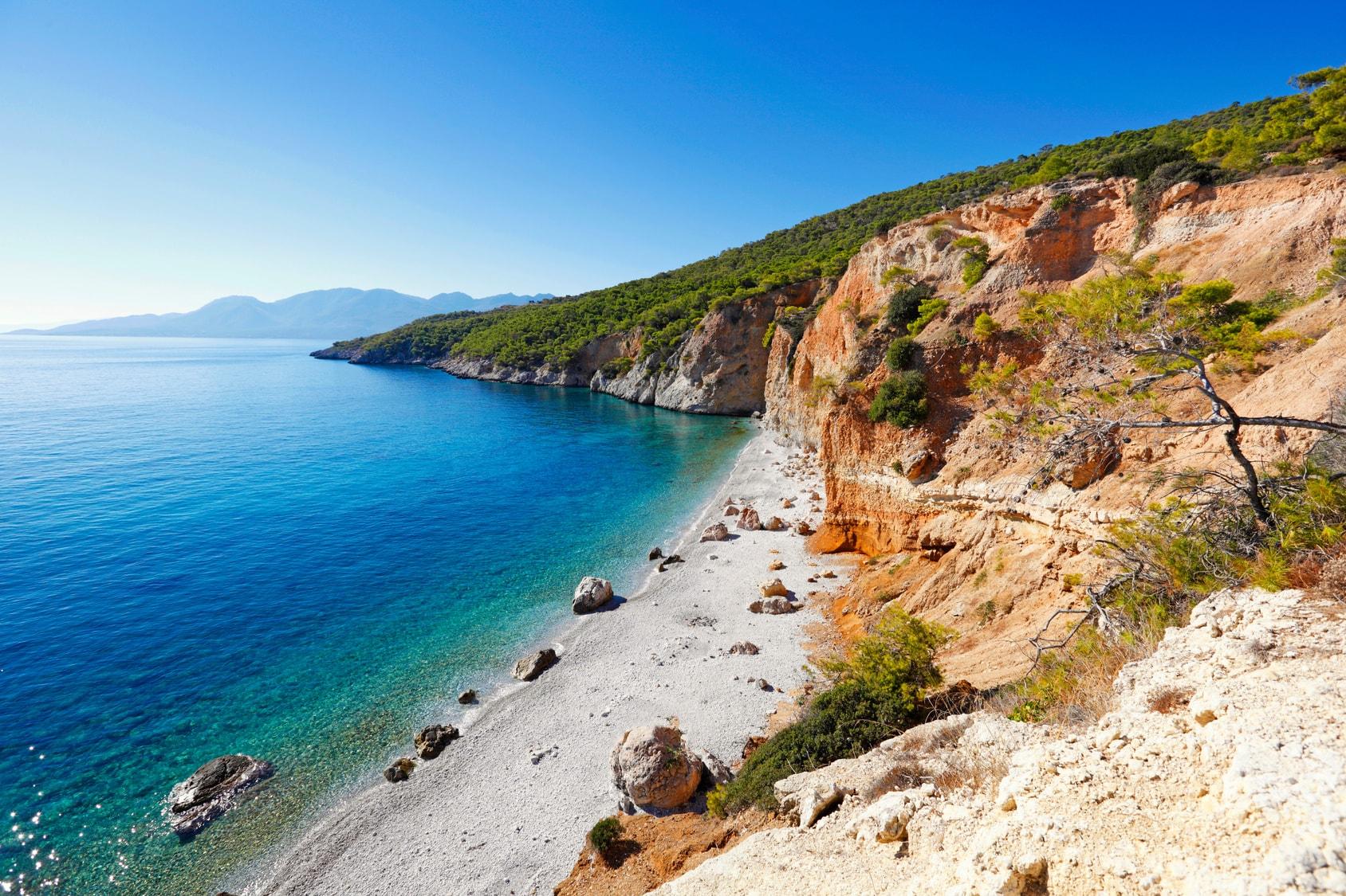 Schönste Strände Peloponnes Karte.11 Kleine Und Unbekannte Griechische Inseln Geheimtipps Für 2019