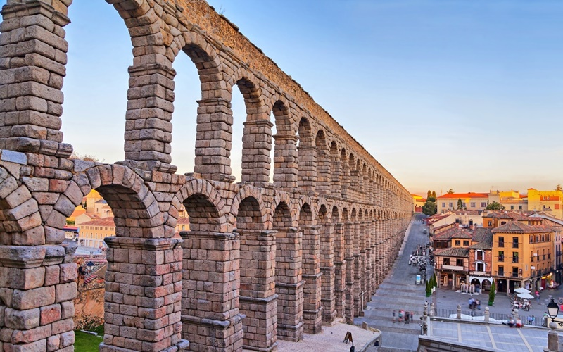 Aquädukt-von-Segovia