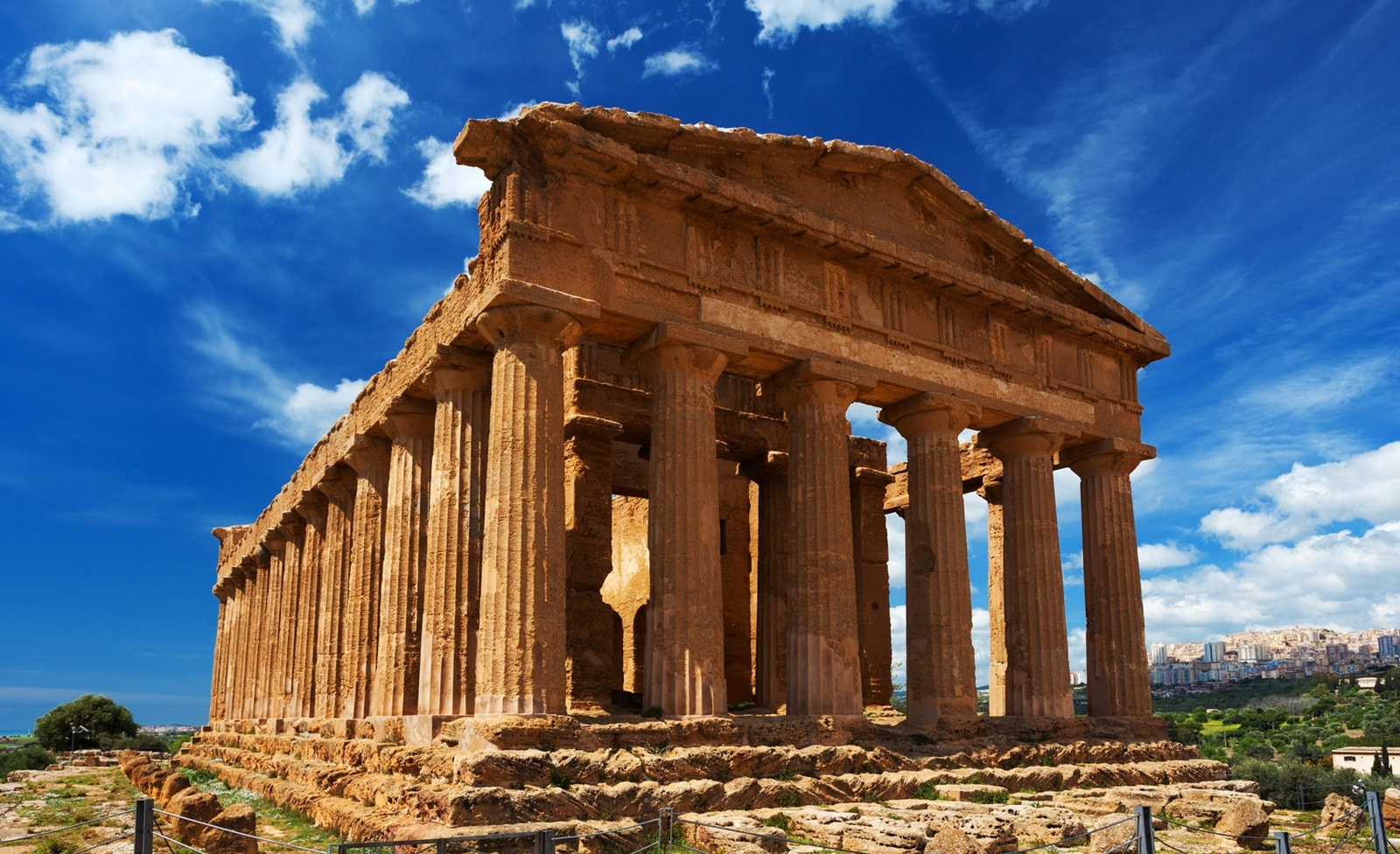 Tal der Tempel auf Sizilien