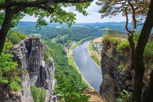 Basteigebirge Sächsische Schweiz