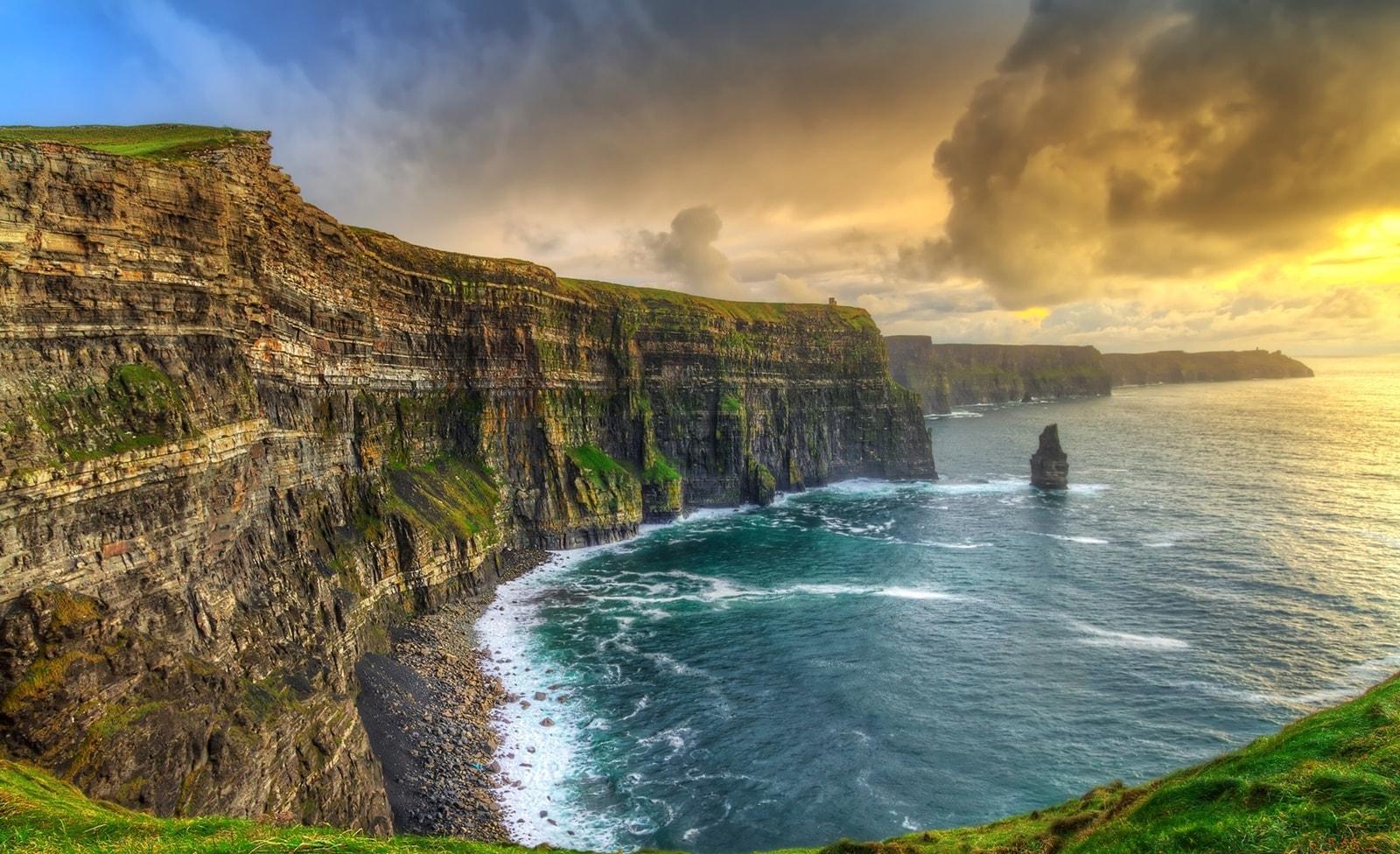 Steilküste in Irland