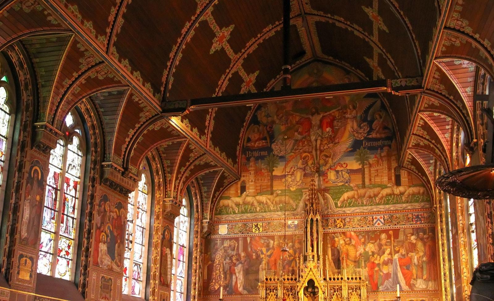 Kirche in Brügge