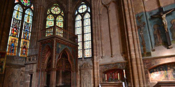 Innenansicht der Elisabethkirche