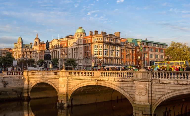 Stadtansicht Dublin