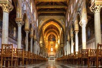 Kathedrale von Monreale Innenraum