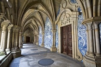 Kathedrale von Porto Kreuzgang