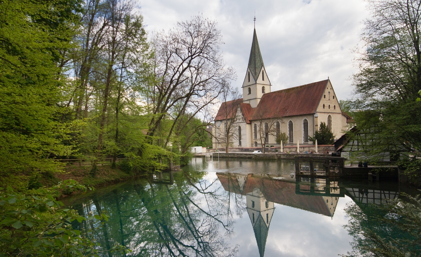 Kloster am Blautopf in Baden-Württemberg